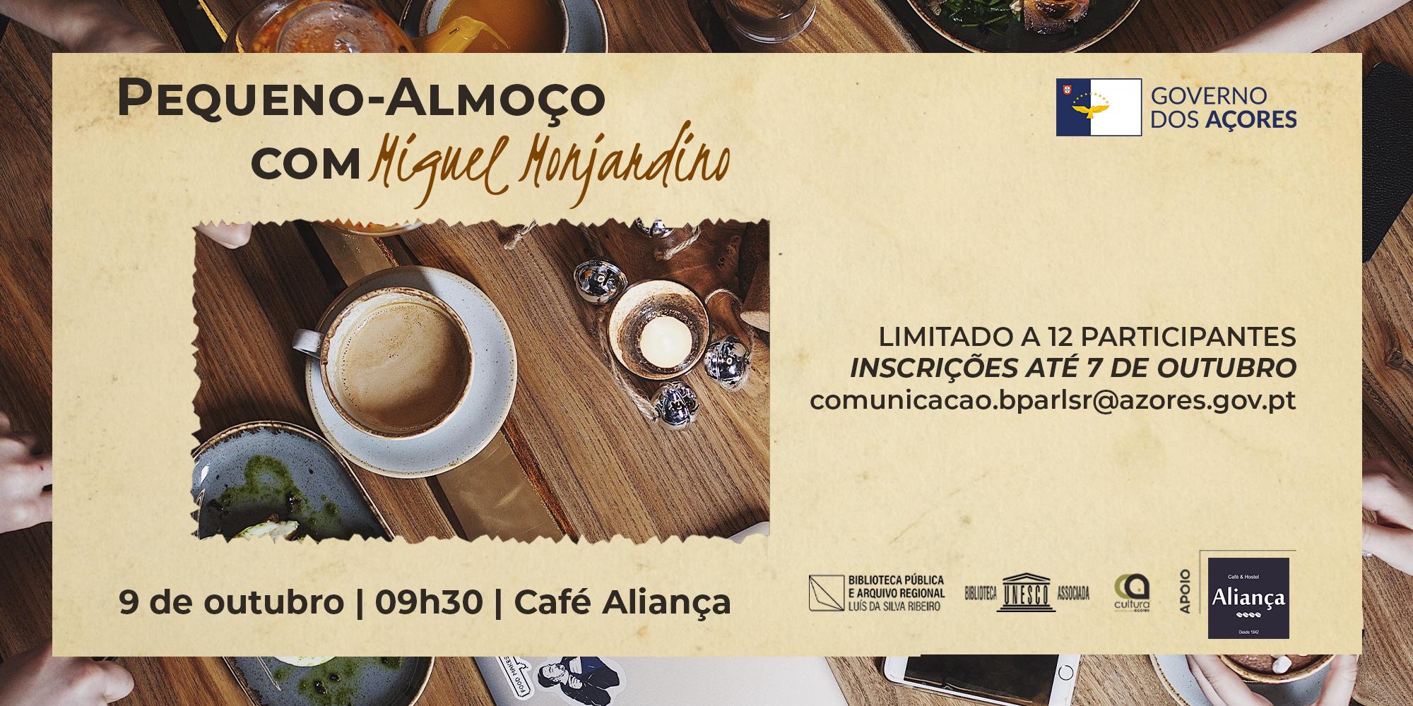 Pequeno-Almoço com… Miguel Monjardino